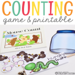 Mouse Counting Math Activity