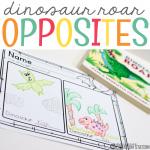 Dinosaur Roar Opposites