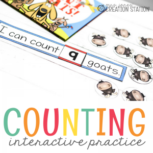 Counting Goats Number Activity