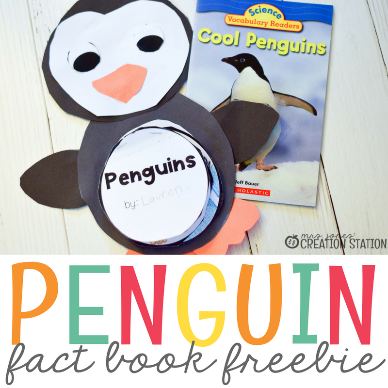 Kinder Garden: Penguin Activity To Help Students Learn Informational