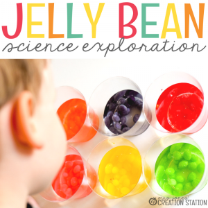 Jelly Bean Simple Science Experiment