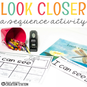 Look Closer- A Sequencing Activity