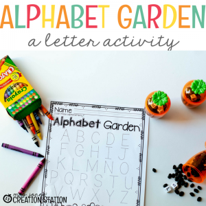 It's Time to Visit the Alphabet Garden