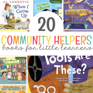 20 Community Helper Books for Little Learners