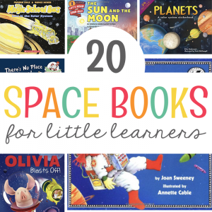 20 Space Books for Little Learners