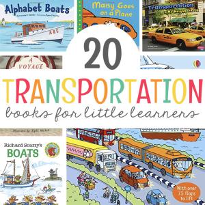 20 Transportation Books for Little Learners