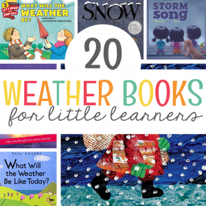 20 Weather Books for Little Learners