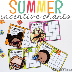 Summer Incentive Charts