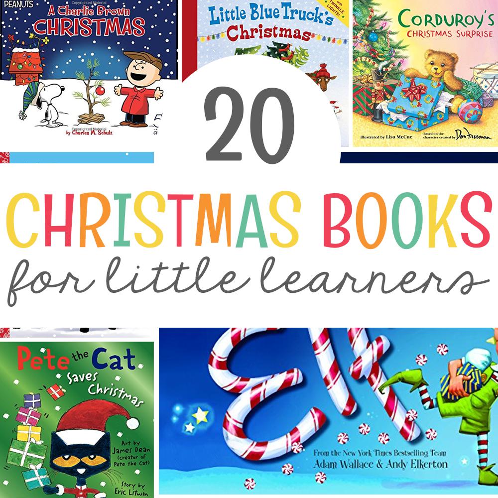 20 Christmas Books for Little Learners - Mrs. Jones\' Creation Station