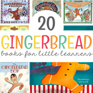 20 Gingerbread Books for Little Learners