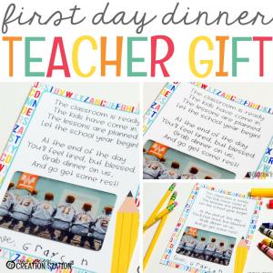 Dinner on Us: A Back to School Teacher Gift