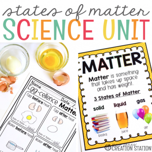 States of Matter Unit for Little Learners