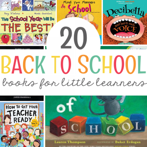 20 Back to School Books for Little Learners