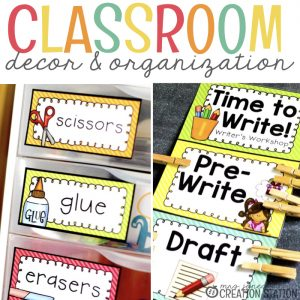 Classroom Decor and Organization That Actually Works