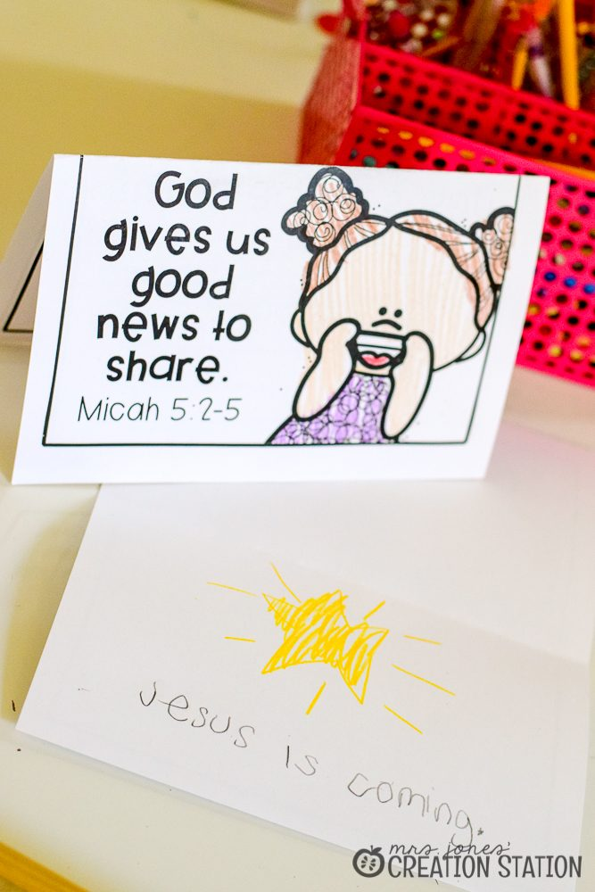 Micah Shares the Good News About Jesus- a Good News bible activity- Mrs. Jones Creation Station