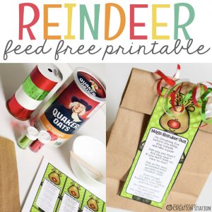 Magic Reindeer Dust Poem- Mrs. Jones Creation Station