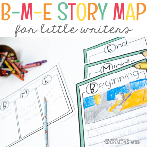Story Progression Map for Little Writers