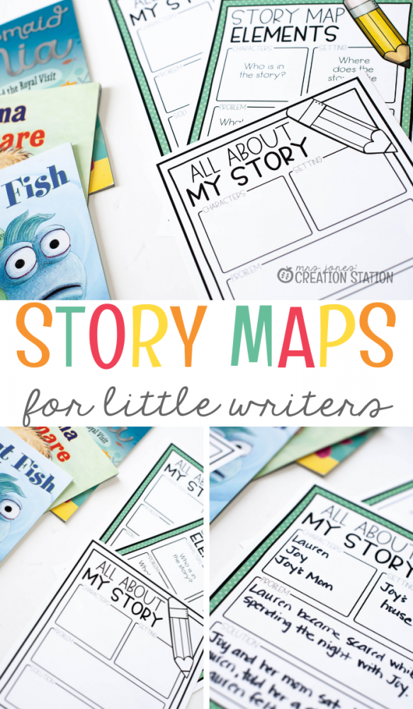 Story Maps for Little Writers- Mrs. Jones Creation Station