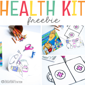 Health Kit Freebie- Mrs. Jones Creation Station