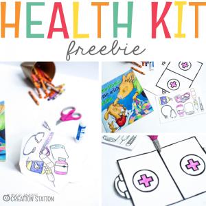 Health Kit Freebie- Mrs. Jones Creation Station