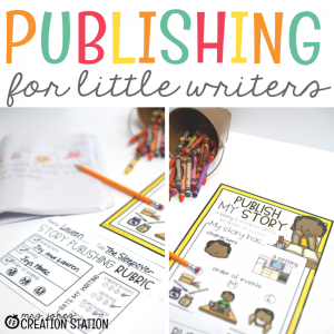 Publishing for Little Writers-Mrs. Jones Creation Station