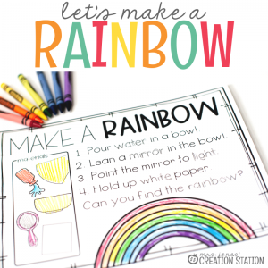 Let's Make Rainbows-Mrs. Jones Creation Station