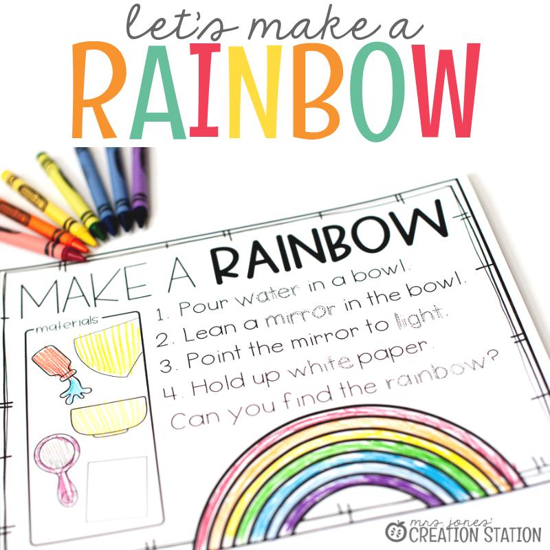 Let's Make Rainbows-Mrs. Jones Creation Station