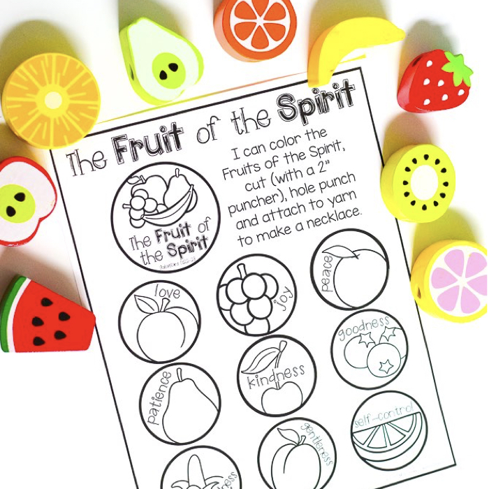 - The Fruit Of The Spirit Necklace - Mrs. Jones Creation Station