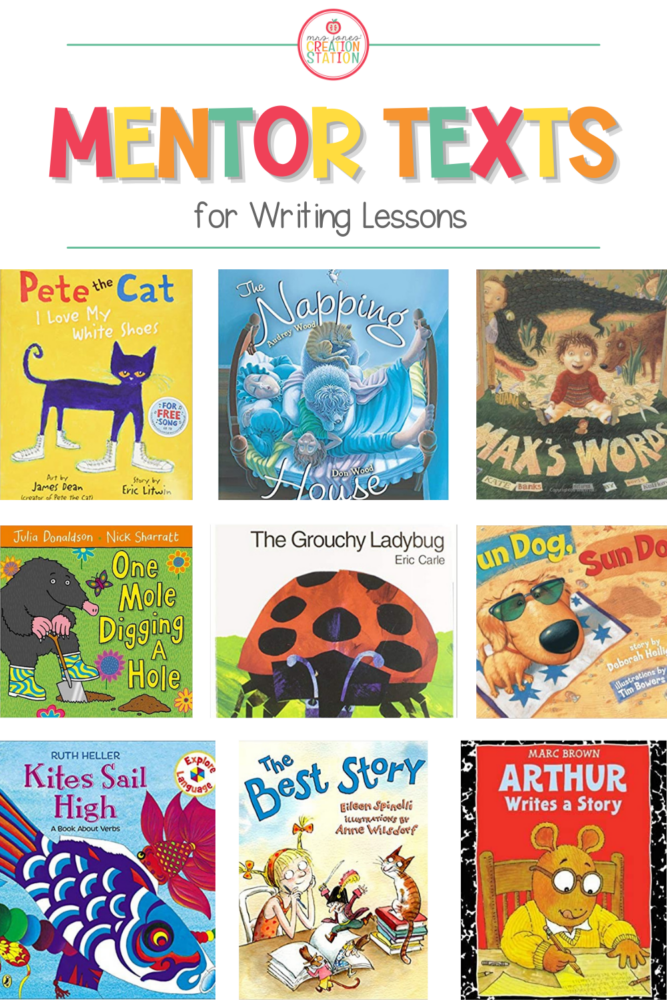 Writing Mentor Texts for Kindergarten and First Grade