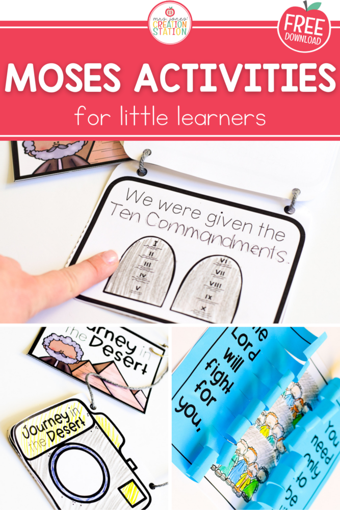 Engage your little learners with these crafts on the stories of Moses.  Each craft is kid friendly, easy to put together and is a great reminder when taken home and displayed.  A great way to teach our little ones what God and Moses teaches us.